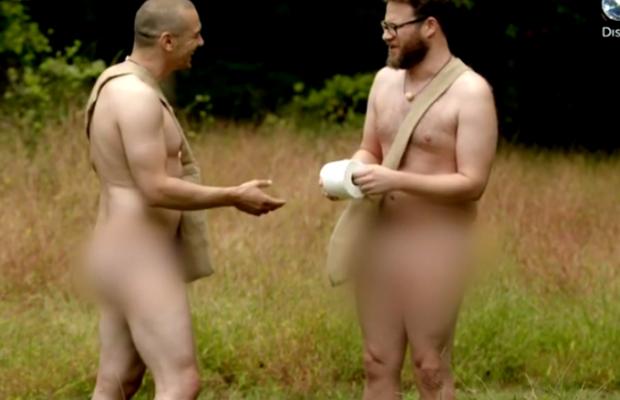 Seth Rogen And James Franco Get Naked In The Woods Together